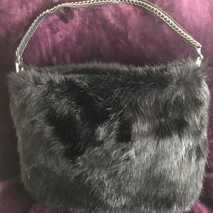 Fabulous Faux Fur Purse! Never used!